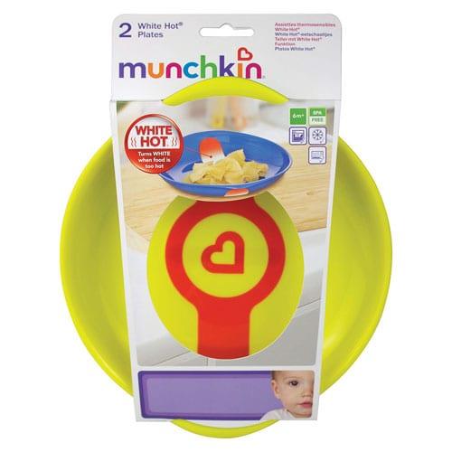 Munchkin – Set 2 farfurii cu senzor de temperatura