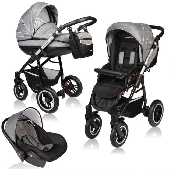 Carucior 3 in 1 VESSANTI Prestige Grey