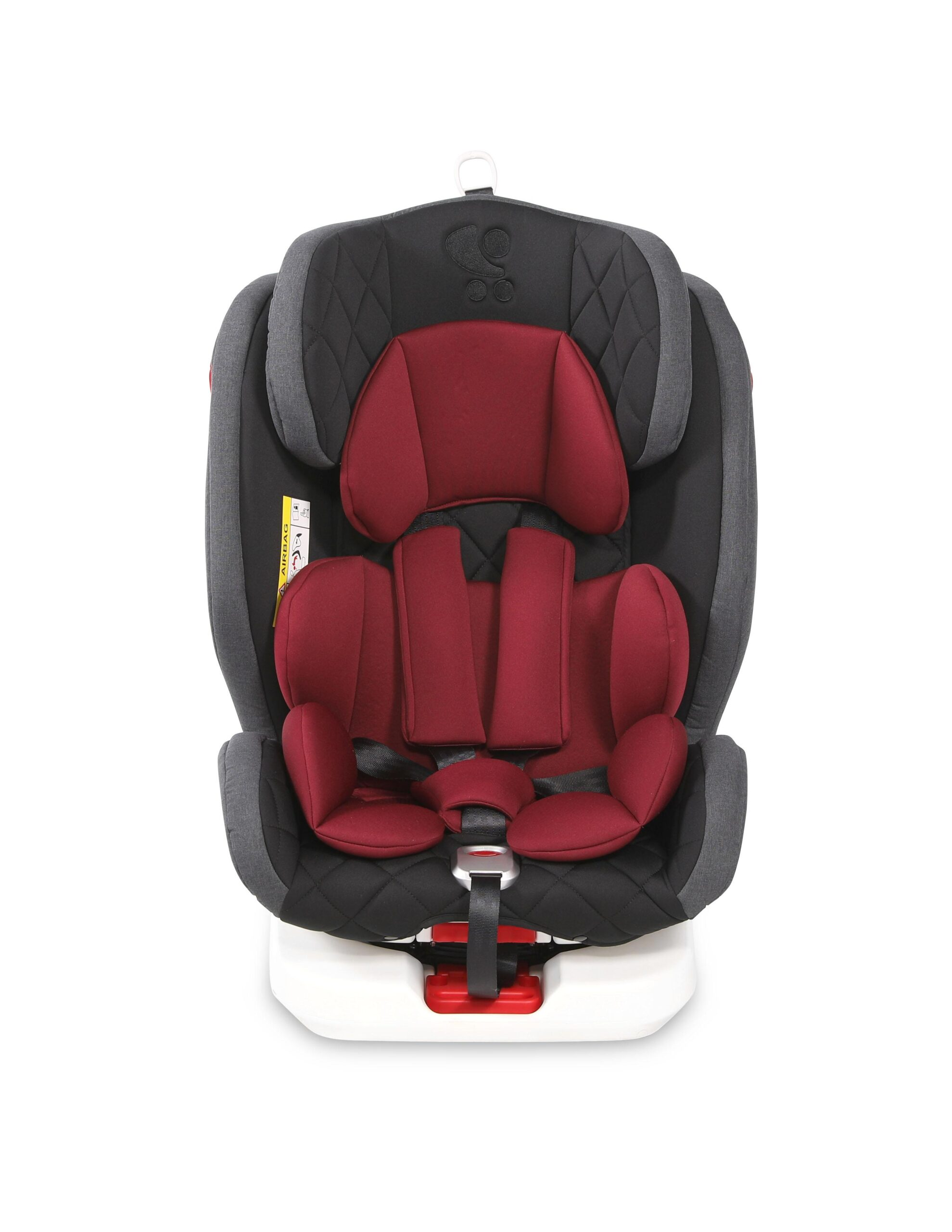 10071272002_ROTO Isofix_BLACK&RED_Front