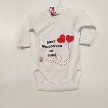 Body bebe Alb ML NN Sunt dragostea lui buni