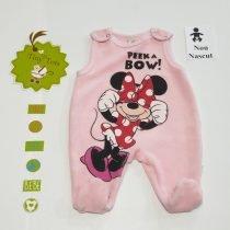 Salopeta maieu cu botosel Disney Minnie Mouse Peek a bow