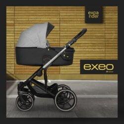 Expander Exeo 01 Silver - Carucior 3 in 1