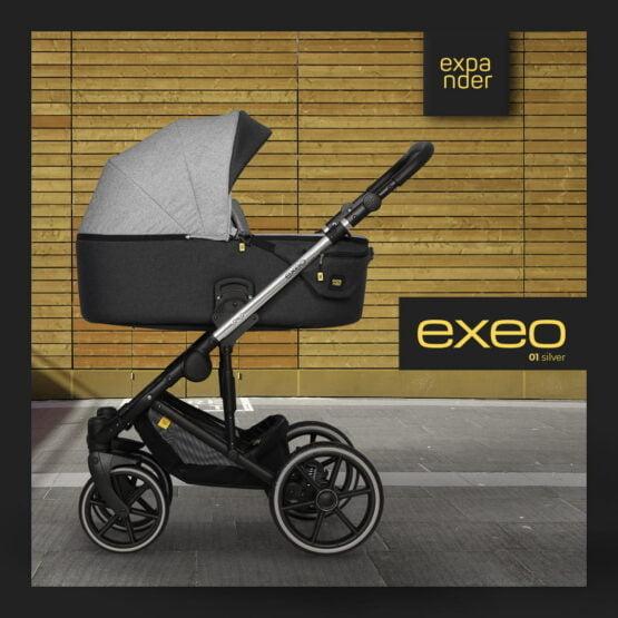 Expander EXEO 01 Silver – Carucior 3 in 1