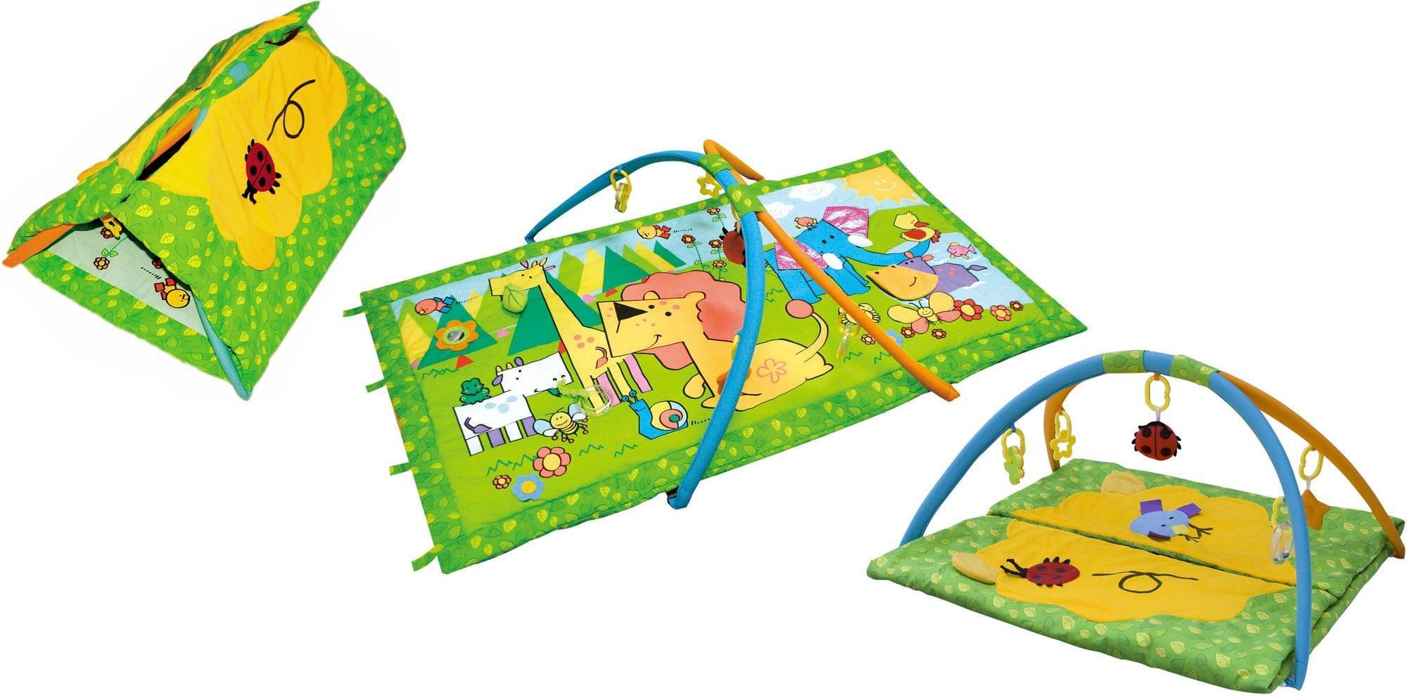 Covoras de joaca bebelusi Animale din jungla