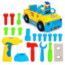 Camion cu unelte al micului mecanic