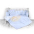 Set de lenjerie 7 piese Bear Party Blue