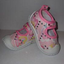 Papucei vara fetite Roz 2