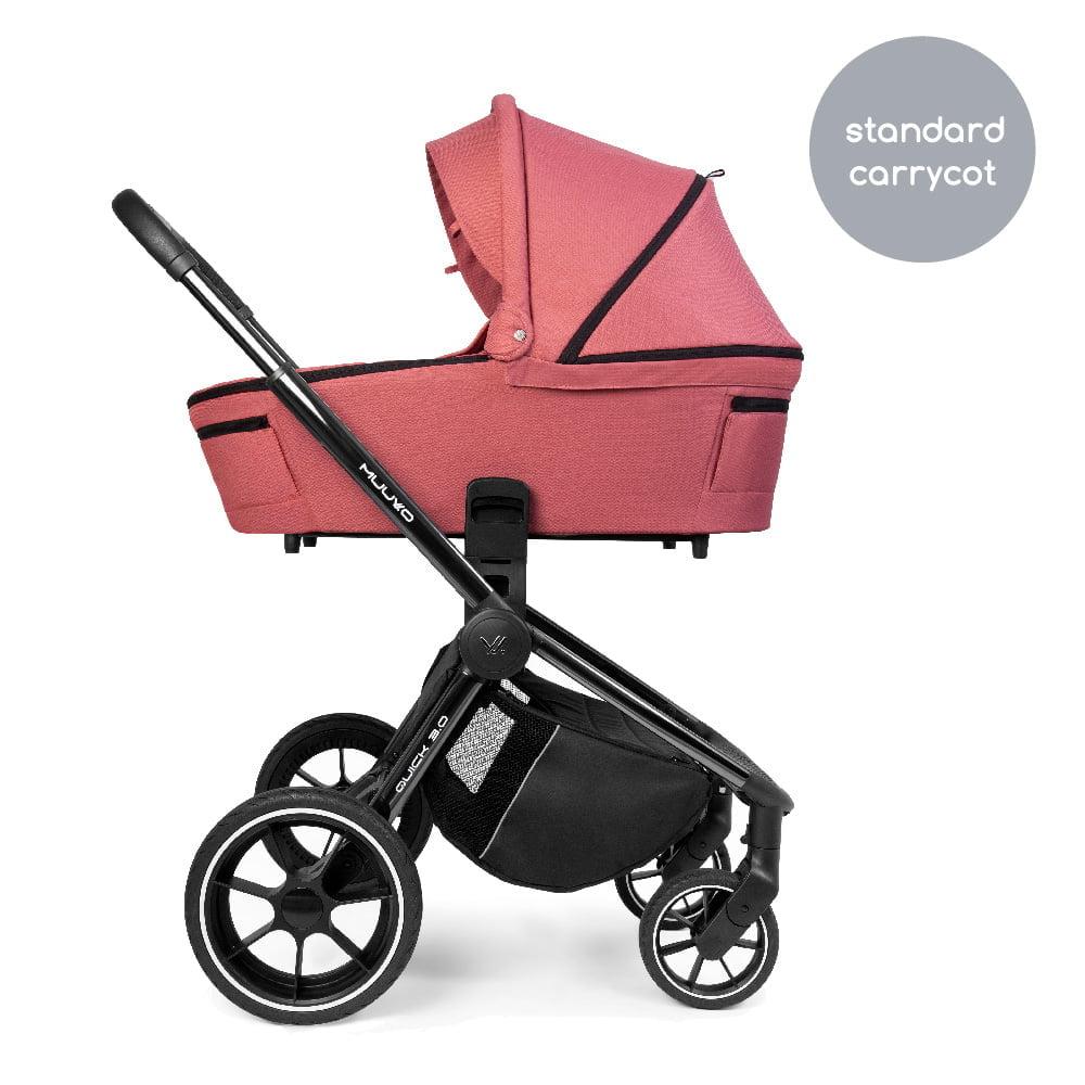Carucior Muuvo Quick 3.0 black chrome Pure Pink www.tinytotsbebe.ro cluj (10)