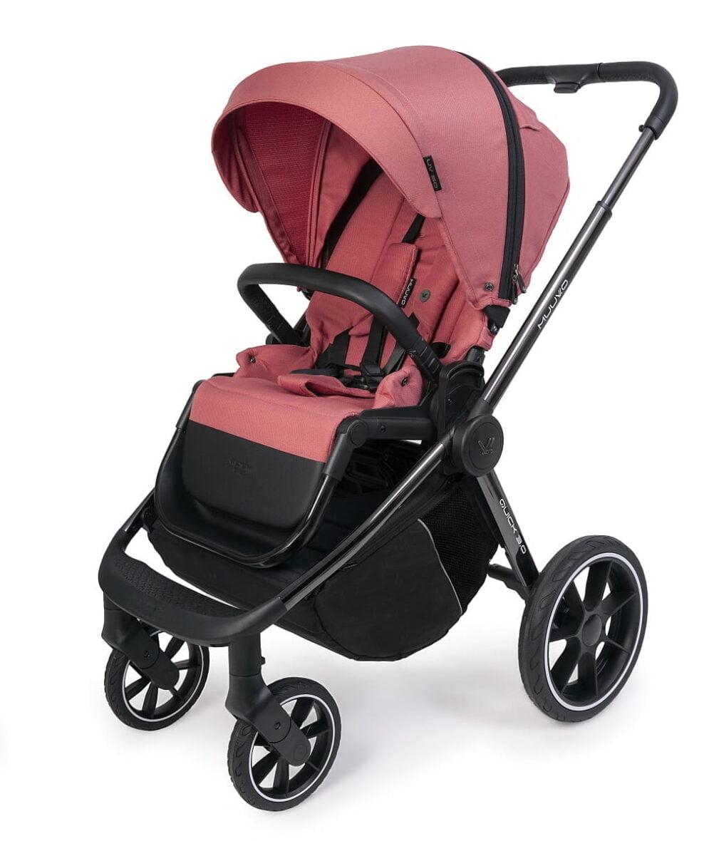 Carucior Muuvo Quick 3.0 black chrome Pure Pink www.tinytotsbebe.ro cluj (13)